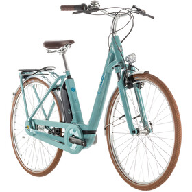 Cube Elly Cruise Hybrid 400 E-City Bike Women Easy Entry teal